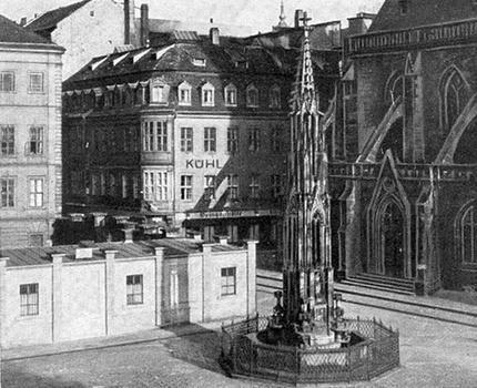 Ausschnitt Kleine Brüdergasse Dresden