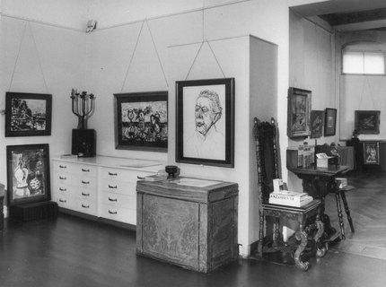 Ausstellung Ernst Hassebrauk im Jahr 1976