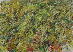 Gerda Lepke. Feldausschnitt im Sept. 2010 Öl/Leinwand, 50 x 70 cm