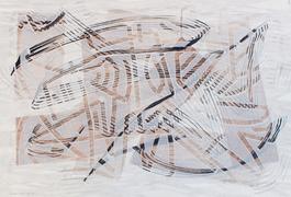 Klaus Dennhardt, Juni 2012, Acryl auf Papier, 55,5 x 82 cm