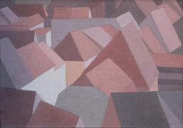 Klaus Dennhardt, Meißen, 2014, Acryl auf Jute, 70 x 100 cm
