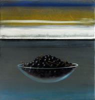 Michael Lauterjung, Im Dunkeln, 2012, Acryl, Lack, Öl auf Leinwand über Holz, 51 x 48 cm