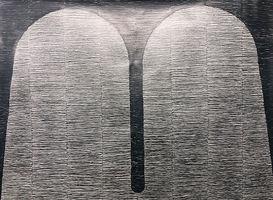Brian Curling, Squares 42, 2018, Graphit Zeichnung, Motiv 88 x 66 cm | Blatt 70 x 100 cm