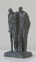 Helmut Heinze, Bruder Martin (verso betitelt), 2014/15, Bronze, Guss 2017, Auflage Exemplar V/1, Höhe 22 cm