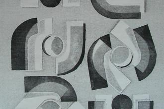Klaus Dennhardt, o. T. (Detail), 1980