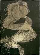 Klaus Dennhardt, o.T., 1985, Monotypie, 61 x 44,5 cm