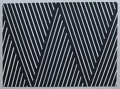 Klaus Dennhardt, 040517, 2017 Acryl auf Papier,  50,5 x 70,5 cm