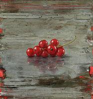 Michael Lauterjung, Trugbild, 2016, Acryl, Lack, Pigment,  Öl auf Holz, 92 x 86 cm